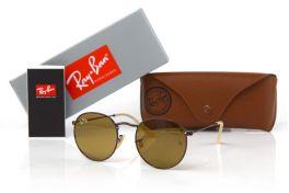 Солнцезащитные очки, Ray Ban Round Metal 3447-brown-br